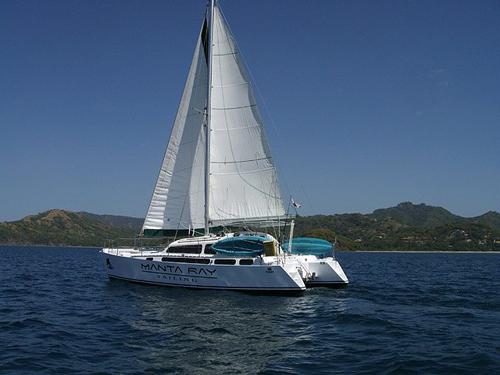 Manta Ray Sailing Catamaran