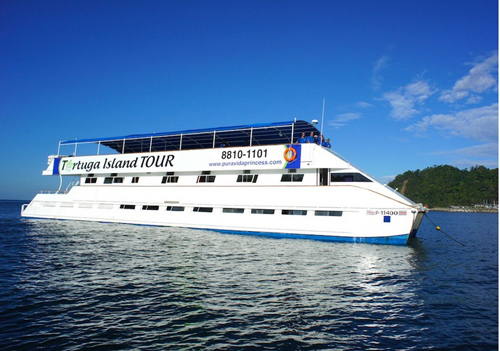 Tortuga Island Catamaran Cruise