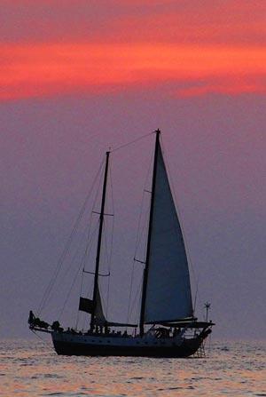 Antares-sailing